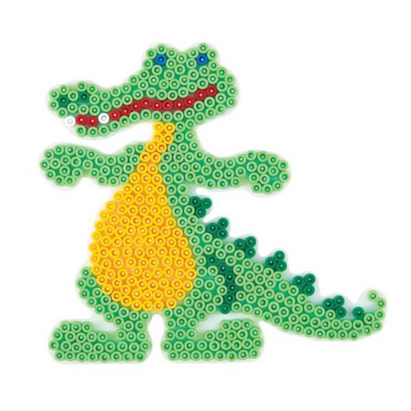 Hama Stiftplatte Krokodil weiß