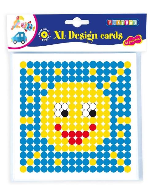 Playbox Motivvorlagen für XL-Bügelperlen