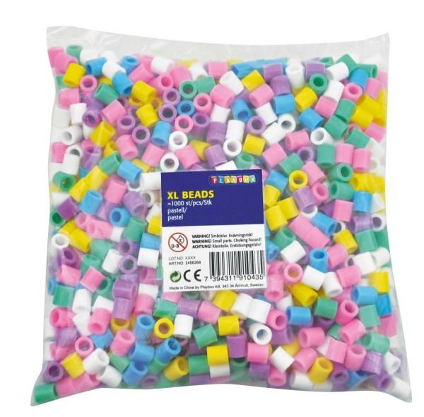 Playbox Beutel XL-Bügelperlen 1000 Pastell