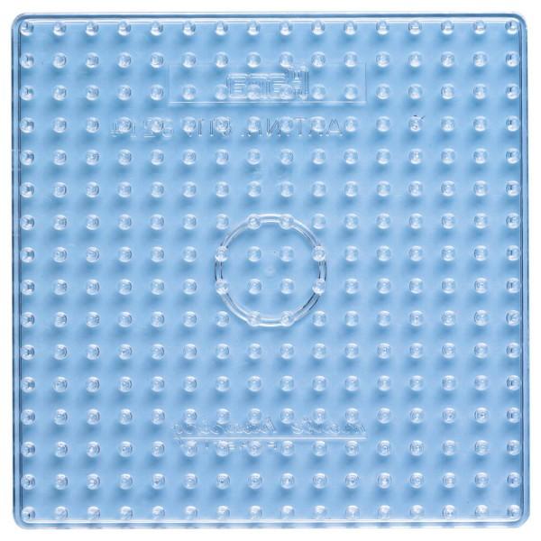 Hama Stiftplatte Quadrat transparent für Maxi-Bügelperlen